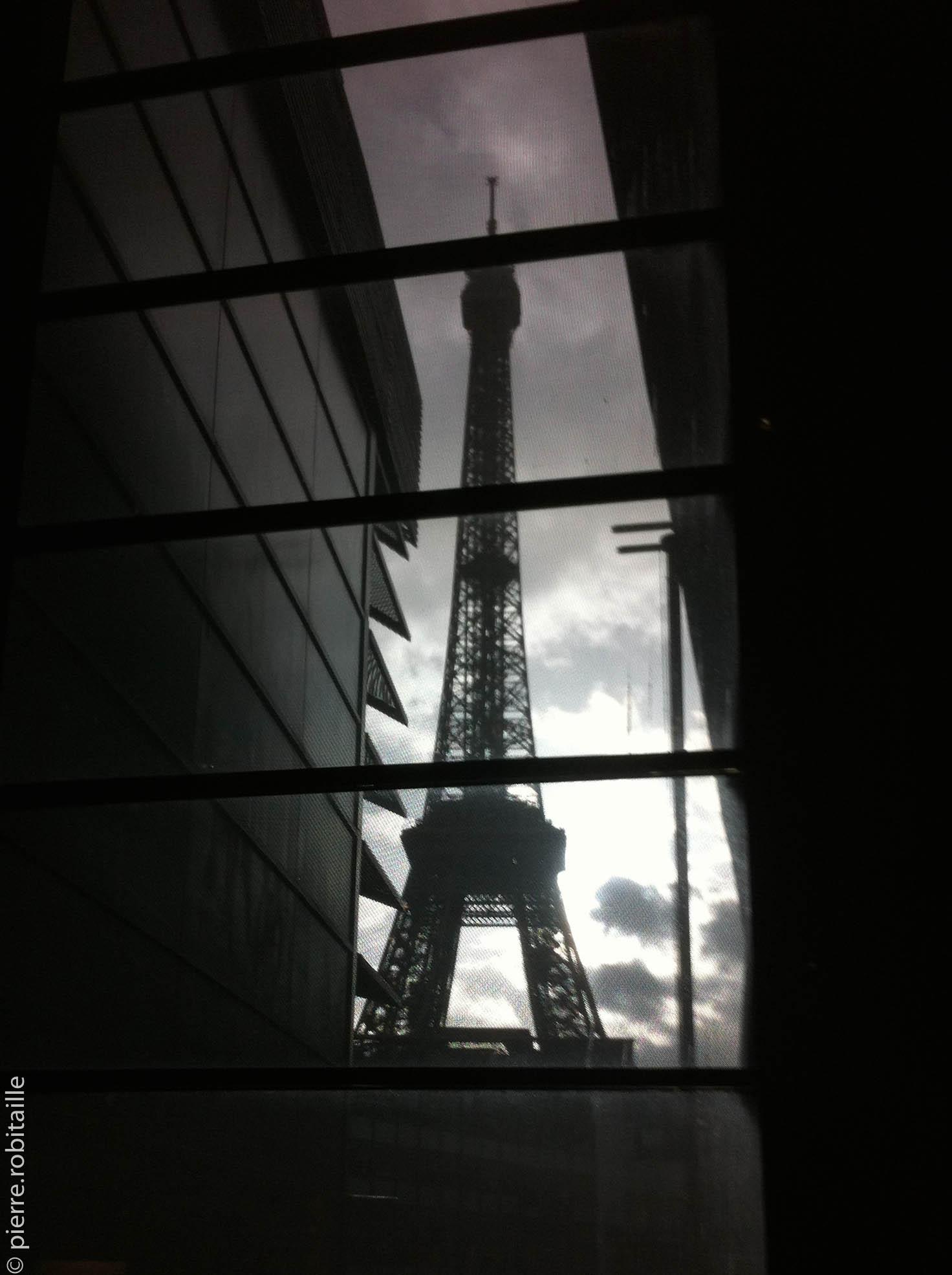 Vu du musée du Quai Branly (Paris, 75)