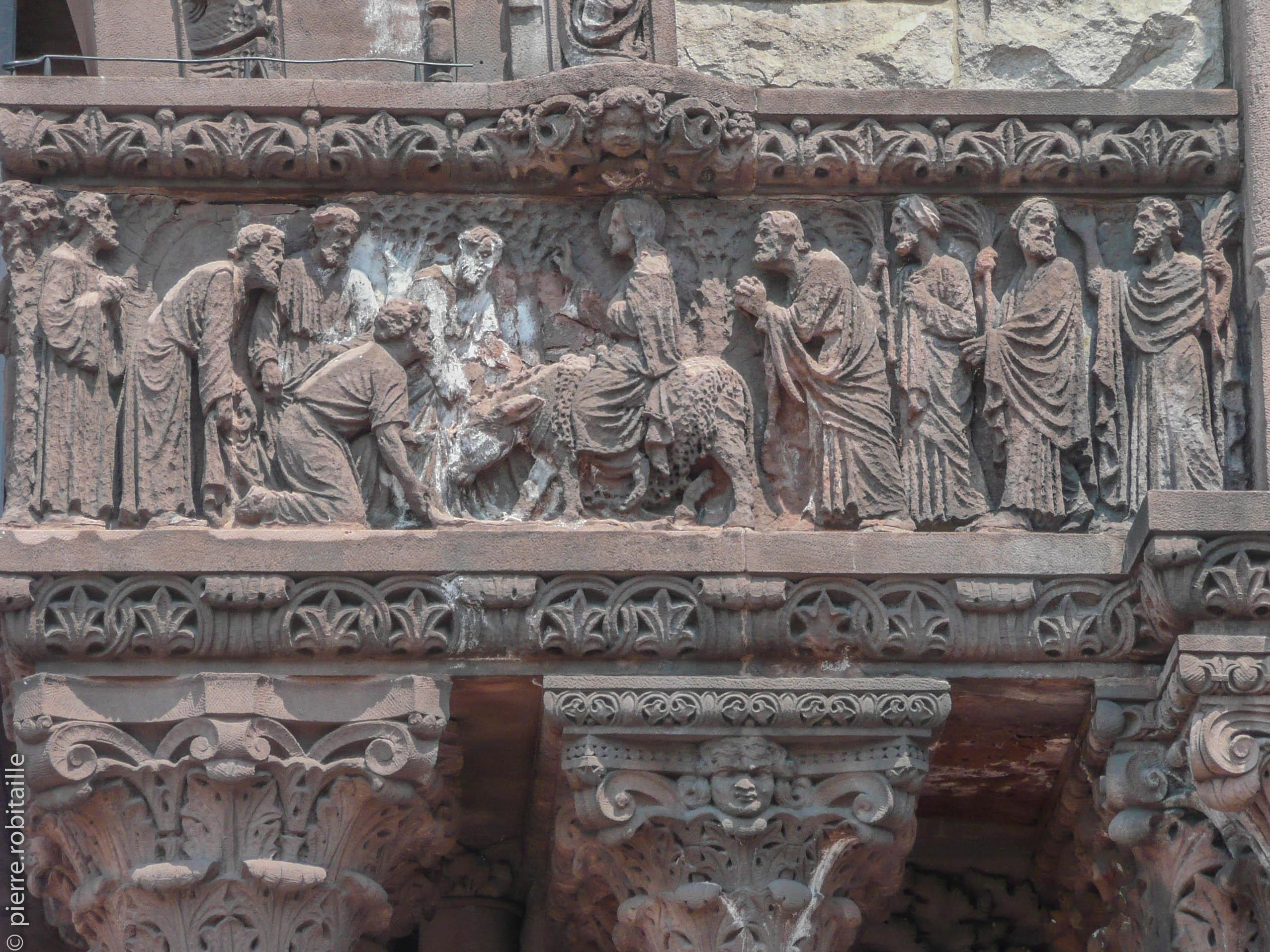 Entrée de Jésus à Jérusalem (Trinity Church, Boston)