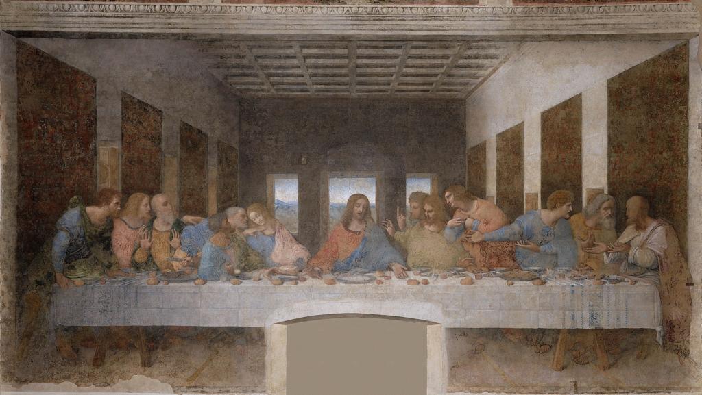 La Cène. L.de Vinci