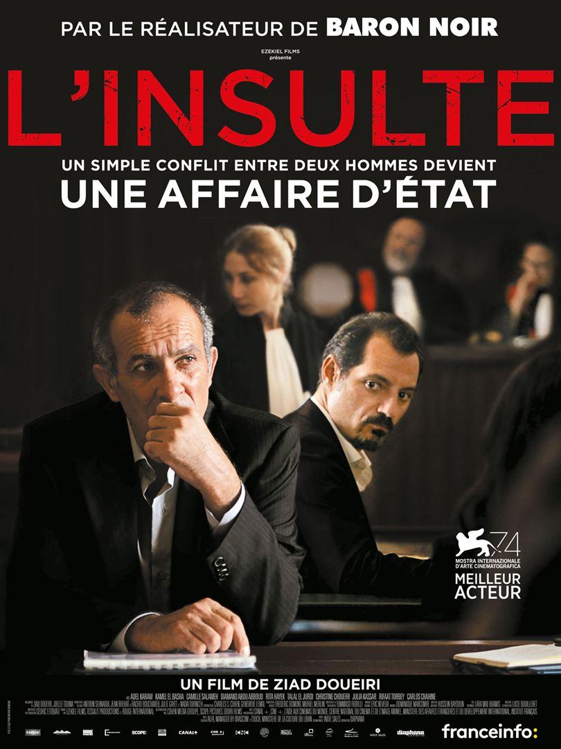 fiche cinéma L'insulte