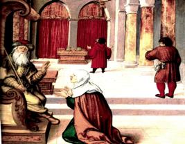 La veuve et le juge inique