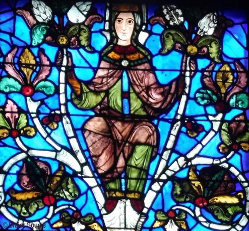 Marie. Arbre de Jessé